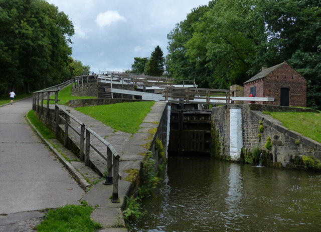 Lock No 25 on the Leeds and Liverpool Canal