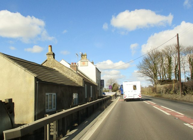 Fox  Hall  Inn  alongside  A66  westbound