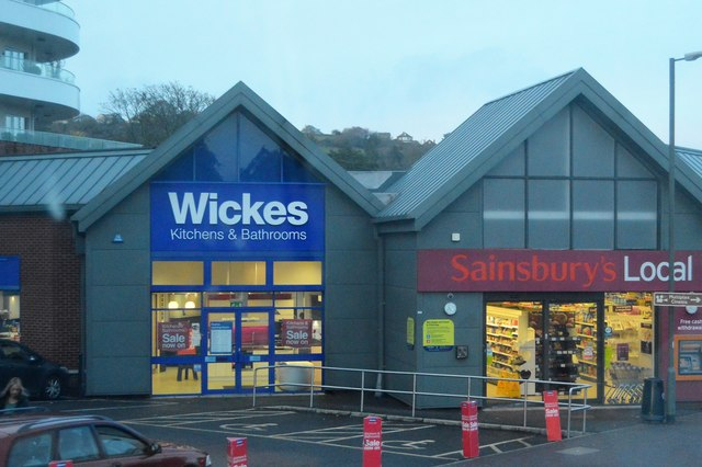 Wickes and Sainsbury's Local