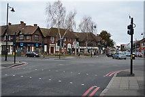 TQ2463 : A2043 / A232 junction, Cheam by N Chadwick