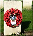TG2008 : The grave of Bertie William Poppy by Evelyn Simak