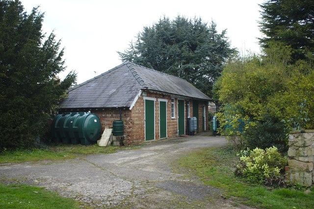 Victorian stable block