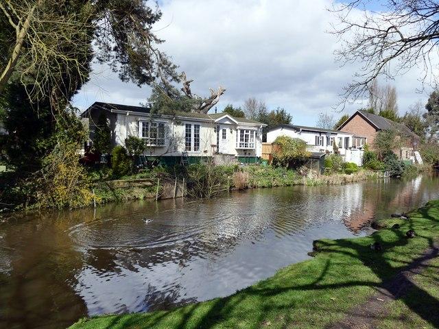 Canalside housing