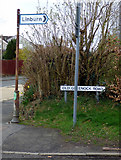 NS4371 : Old signpost at Old Greenock Road by Thomas Nugent