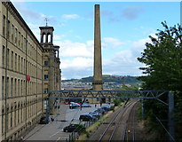SE1338 : Salts Mill at Saltaire by Mat Fascione