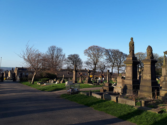 Pudsey Cemetery - general view