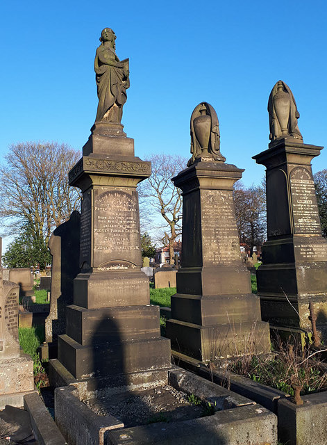 Pudsey Cemetery - grave of Peter Strickland