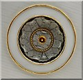 SU8604 : St John's Ceiling Rose by Gerald England