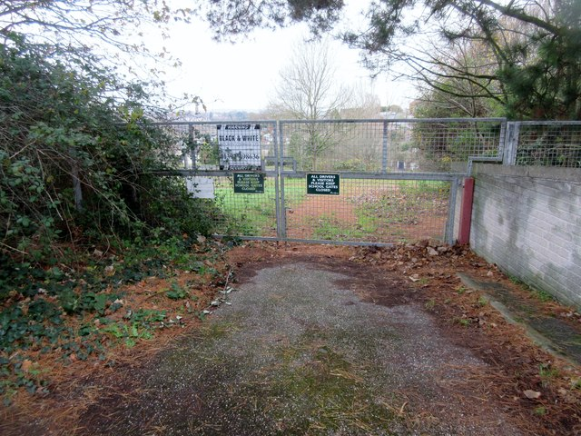 Entrance to former school in Higher Exwick Hill