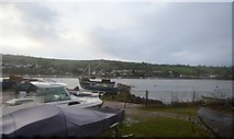 SX9272 : Boats by the River Teign by N Chadwick