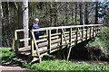 NT9352 : Footbridge over the Linn Burn, Paxton Estate by Jim Barton