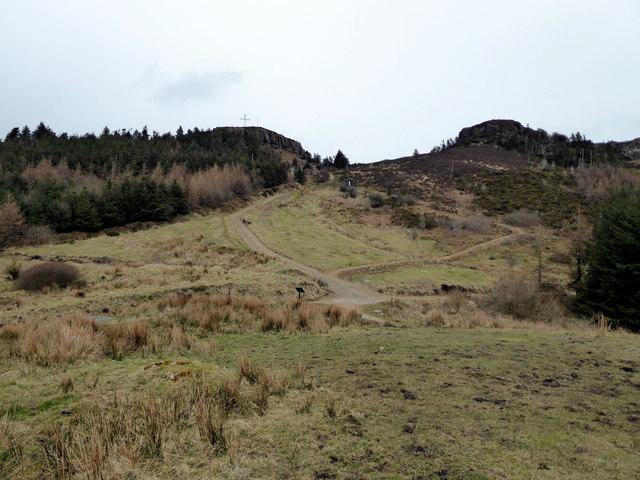 Path near Devil's Bit