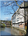 SU9949 : Debenhams and the River Wey by Des Blenkinsopp