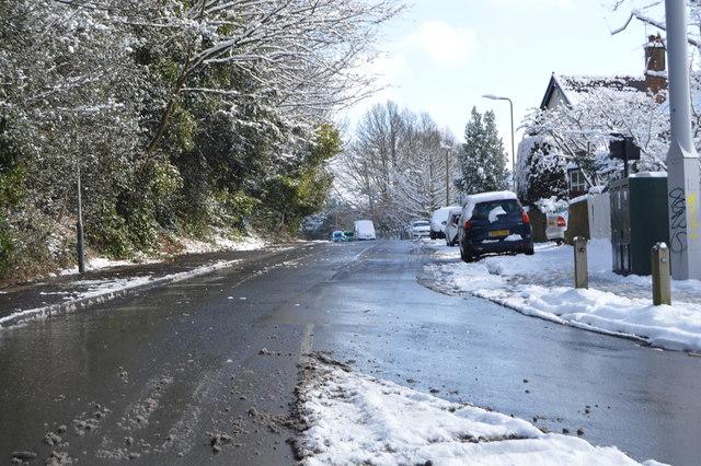 Powder Mill Lane by N Chadwick