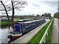 SK1414 : Narrowboat 'Sanity Again' by Graham Hogg