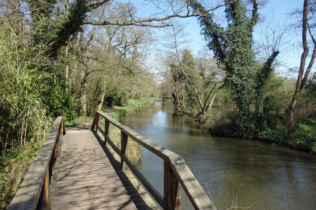 Footbridge on the Towpath