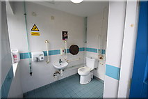 SE7296 : Inside the disabled toilet at Rosedale Abbey by op47
