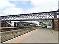 SE6132 : Selby station -  footbridge by Stephen Craven