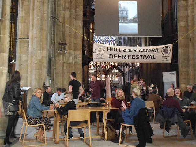 Hull CAMRA beer festival 2018 (1)