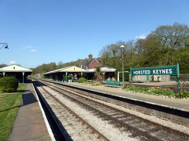 Horsted Keynes Railway Station