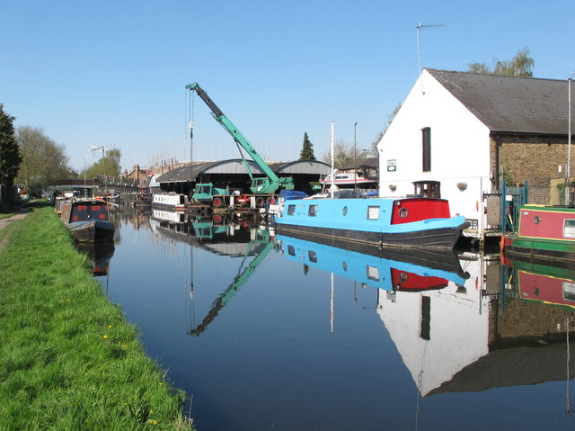 Uxbridge boatyard