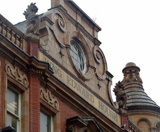 County Arcade complex, Leeds, King Edward House