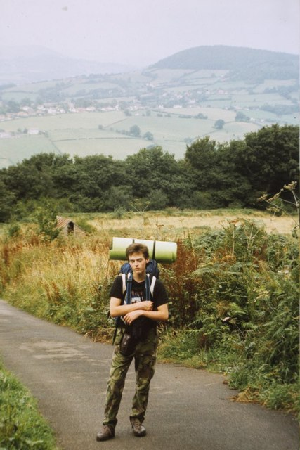 Offa's Dyke path, Kymin Road