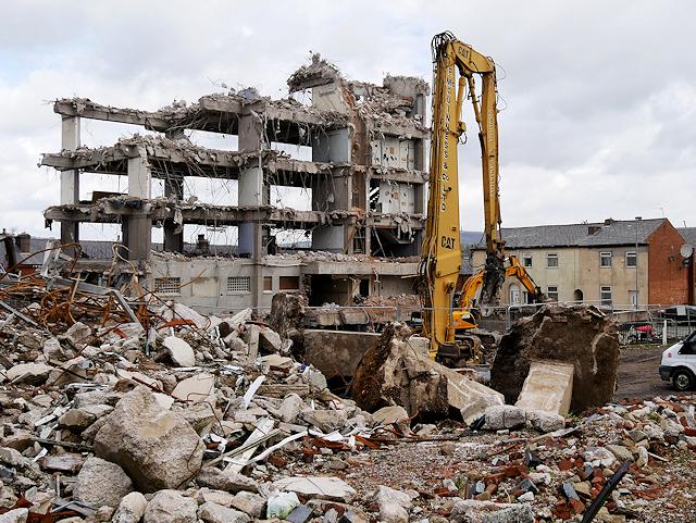 Police HQ Demolition