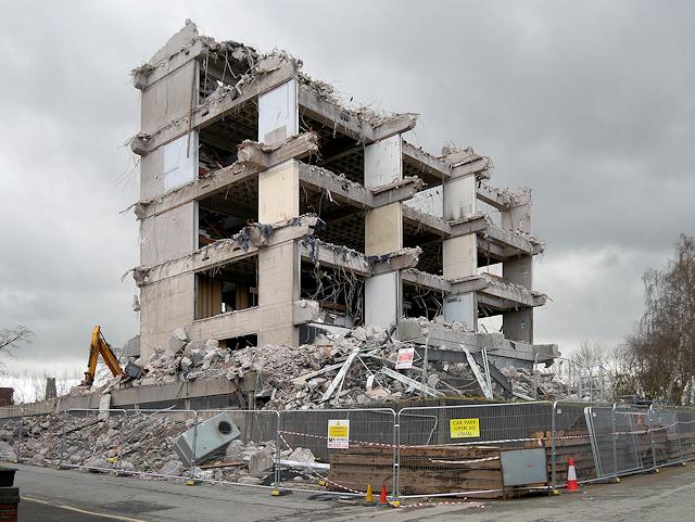 Demolition of Police Station (April 2018)