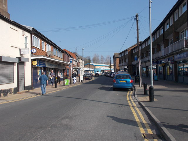High Street - viewed from Station Road
