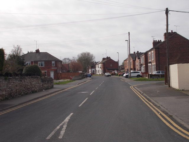 Doncaster Road - viewed from High Street