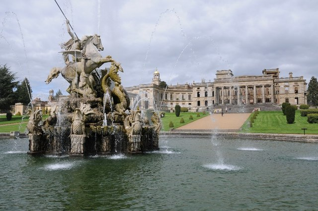 The Perseus and Andromeda Fountain and Witley Court