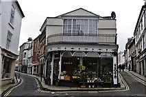SX3384 : Launceston: Flower Scene florists 2 by Michael Garlick