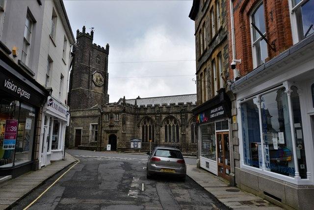 Launceston, St. Mary Magdalene's Church