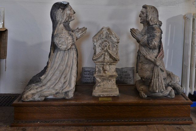 Launceston, St. Mary Magdalene's Church: The Piper effigies