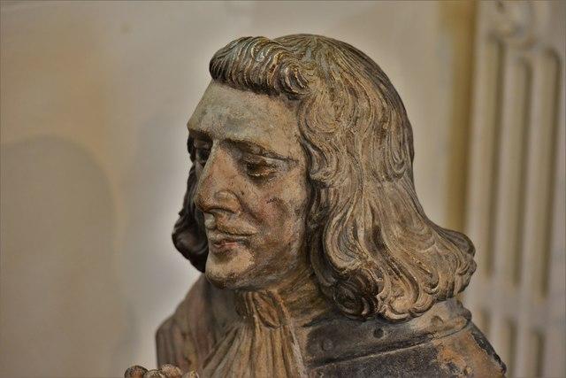 Launceston, St. Mary Magdalene's Church: The Piper effigies (detail) 2