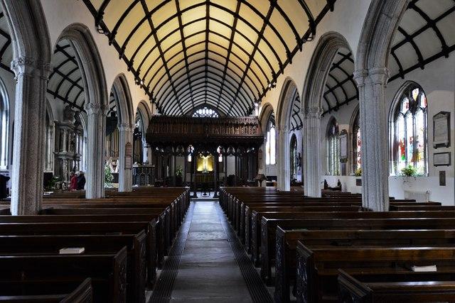 Launceston, St. Mary Magdalene's Church: The nave