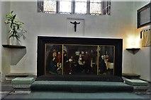 SX3384 : Launceston, St. Mary Magdalene's Church: The Lady Chapel altar by Michael Garlick