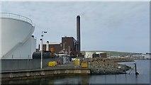 HU4642 : Lerwick Power Station by Mike Pennington