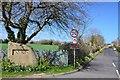 NT9352 : Paxton village sign by Jim Barton