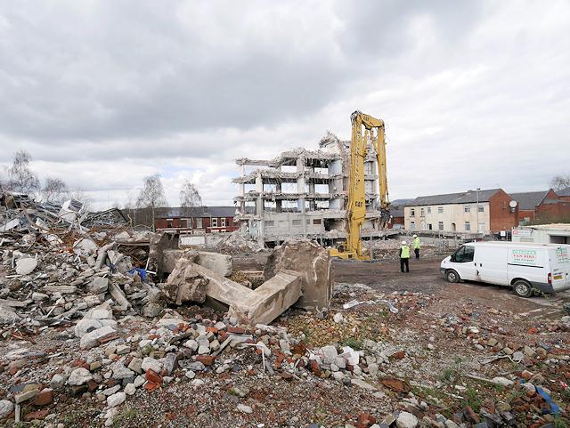 Former Police Station Demolition Site