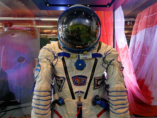 Tim Peakes Sokol KV 2 Spacesuit At MoSI