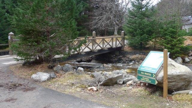 Bridge at Pitmain Lodge