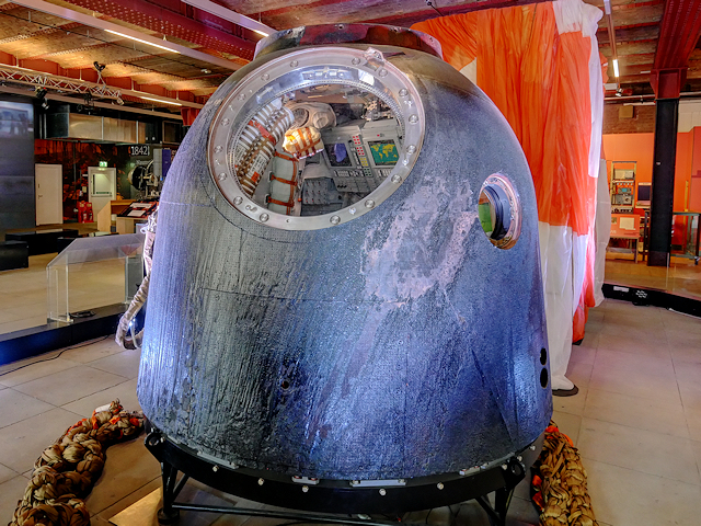 Tim Peake's Spacecraft at the Museum of Science and Industry