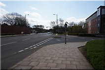 SE3320 : Marsh Way at Frederick Street, Wakefield by Ian S