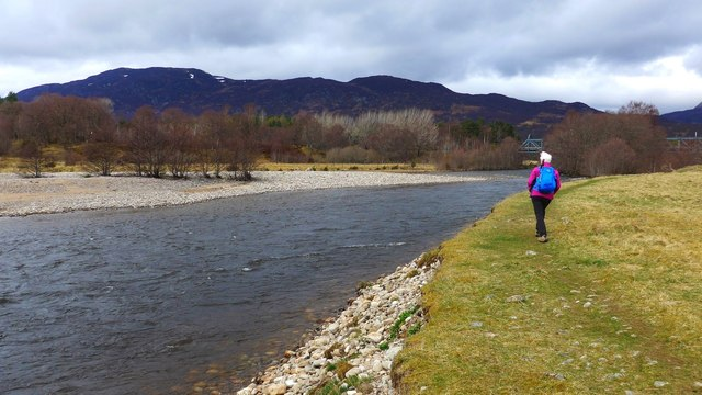The Spey at Newtonmore