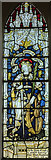 TF0349 : Stained glass window, St Andrew's church, Cranwell by Julian P Guffogg
