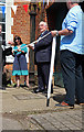 SU4924 : Twyford Pumping station - ribbon cutting ceremony by Chris Allen