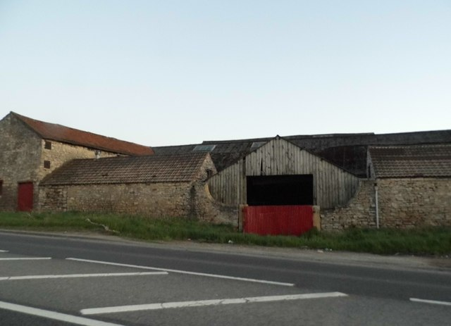 Barn on the Great North Road, Adwick-le-Street