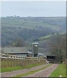 SX8157 : Lane to Coombe Farm by N Chadwick